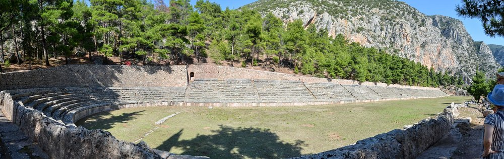 Stadium at the top of Delphi