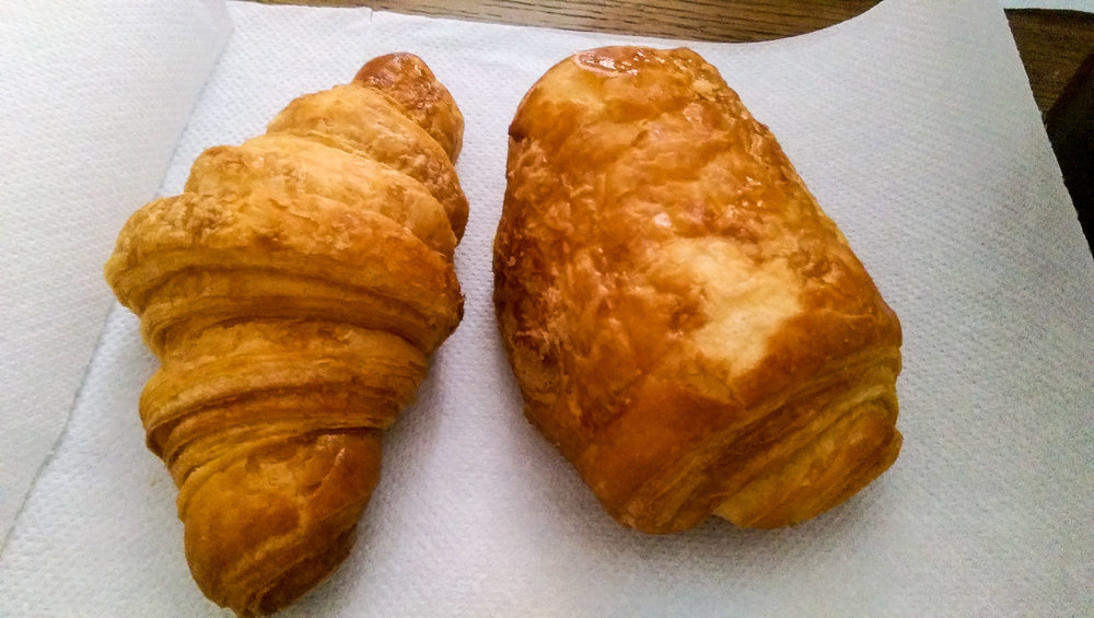 Vegan croissant and pain au chocolat!!!