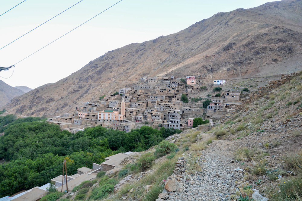One of the many Berber villages we walked through during our hikes