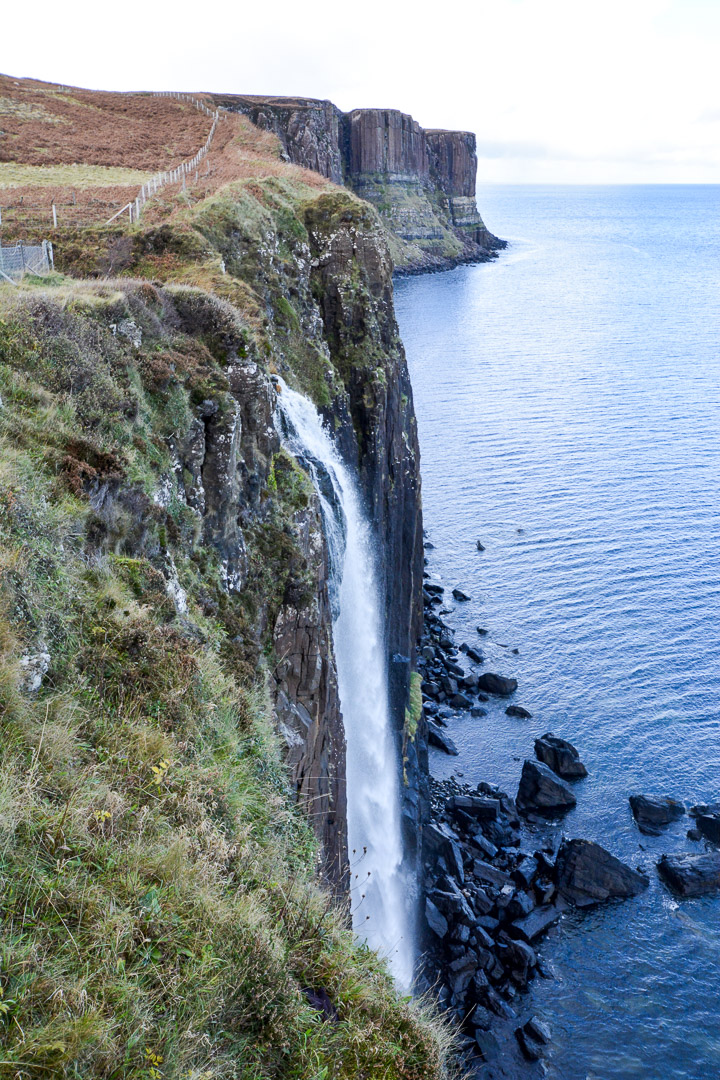 Mead Falls and Kilt Rock behind it!