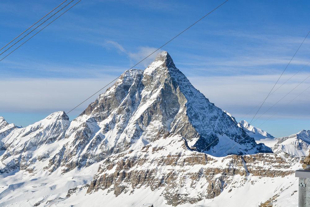 The Matterhorn from the Italian Side