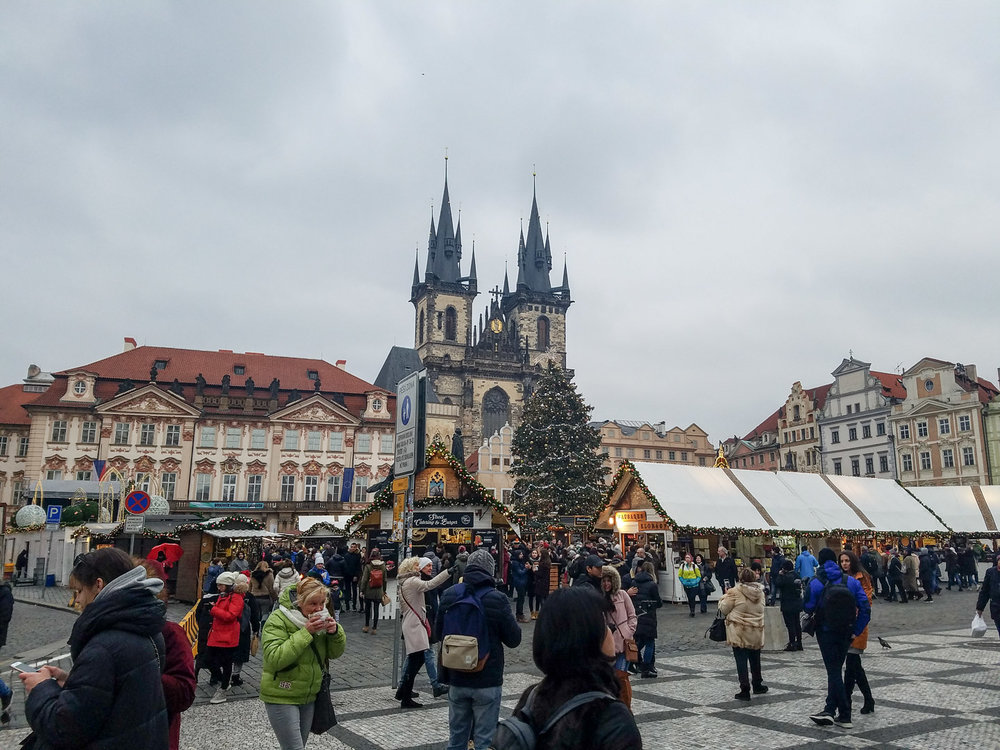 Christmas Market at Old Town Square