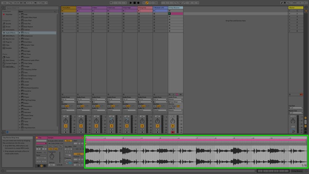 If you're going for a loop, don't cut off the recording process too early.