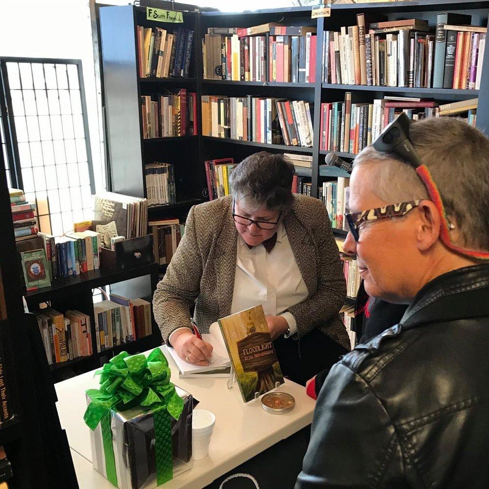 gatsby books reba birmingham floodlight launch speaking