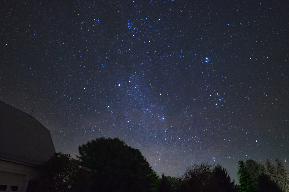 Another night sky photo from Mom's back yard, Kane Pa.