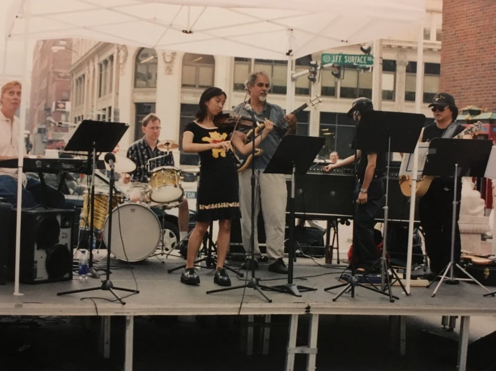 Sojourners live in Boston's Chinatown 1994
