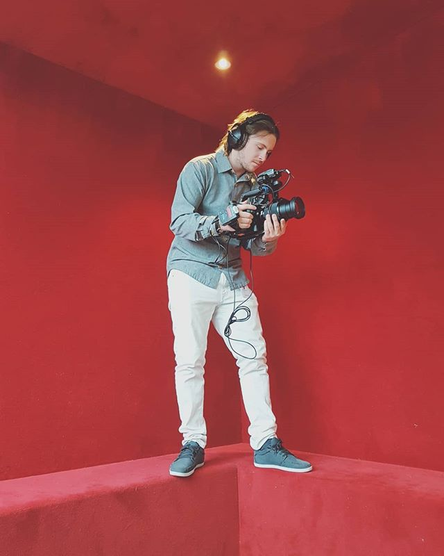 Red is the new green. . . . #imajack #filmmaking #sony #fs5 #redscreen #production #videography #set #creative #movie #switzerland