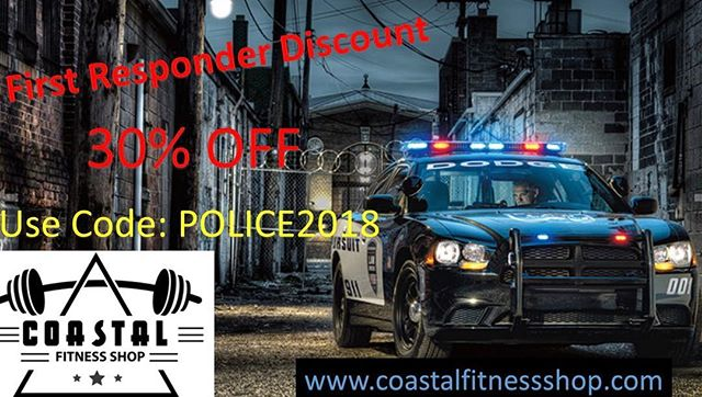 Check it out. Calling all First Responders. Get 30% off your next order.