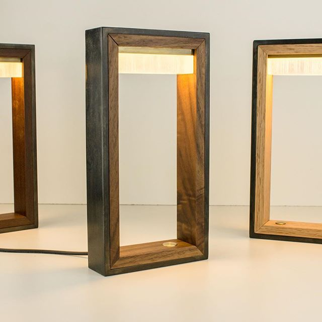The WS4.25 now available in #walnut #whiteoak and #teak see the entire Wood & Steel collection at www.papaydesigns.com  #madehere #interiordesign #interiordesigner #modern #steel #design #lightingdesign #lighting #moderndesign #led #ledlights