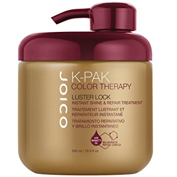 Joico Luster Lock  - This is my all time favorite deep conditioning mask. I use this both on clients as an add-on conditioning treatment, as well as at home on my own hair. This conditioning mask will not only help make your hair color last longer but will always work to repair any damage in your hair. It adds shine and softness and of course, smells amazing!