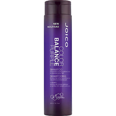 Joico Color Balance Purple Shampoo - Blondies, this one's for you! Whether you are naturally blonde or highlighted, purple shampoo will keep those yellow & brassy tones out of your hair. This is by far my favorite purple shampoo. It is very pigmented which ensures the best results.