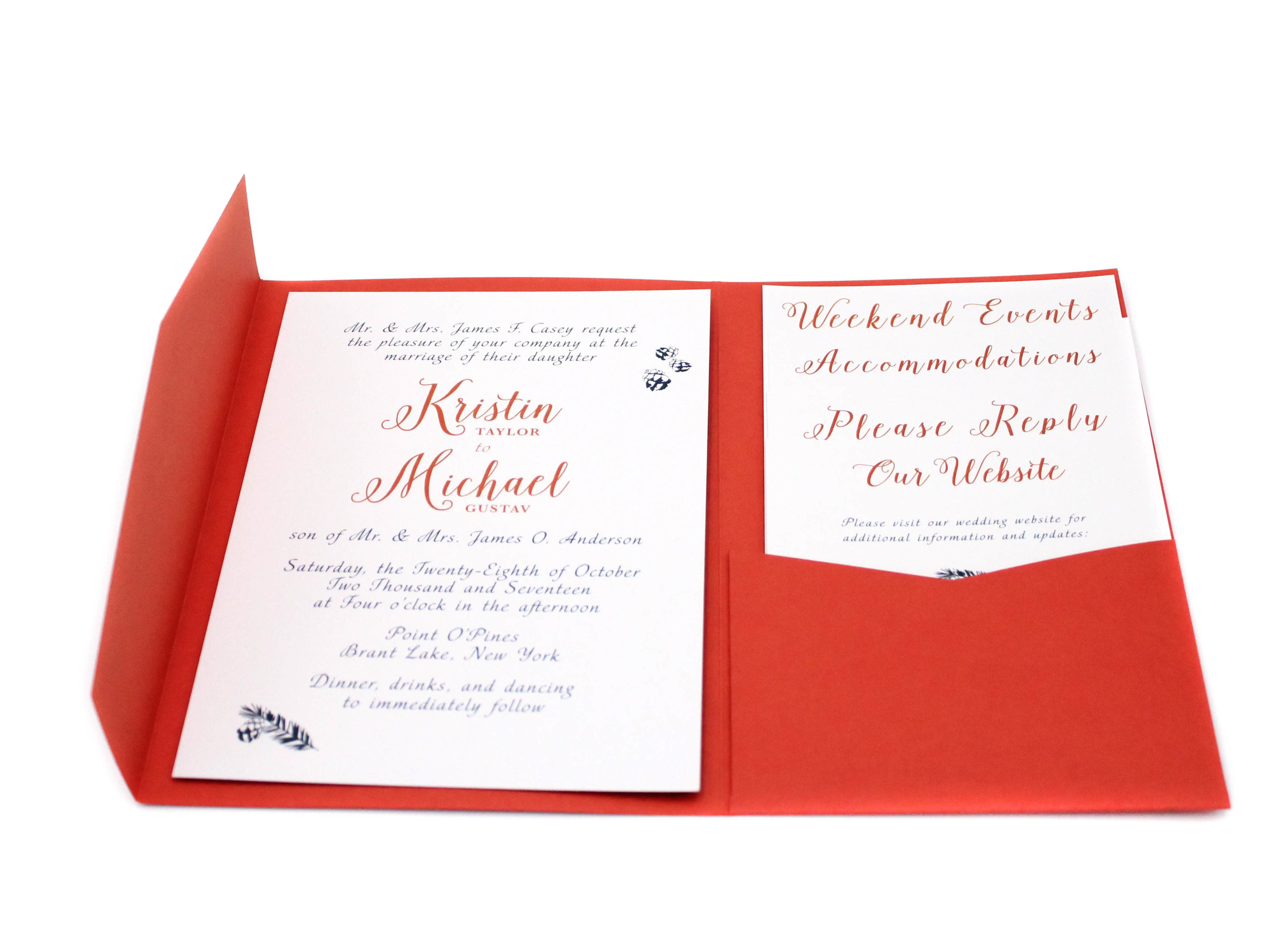 Wedding Branding Collateral — Leigh Ryan: Art & Design