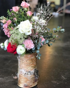 Custom birch tree vases now available while supplies last!