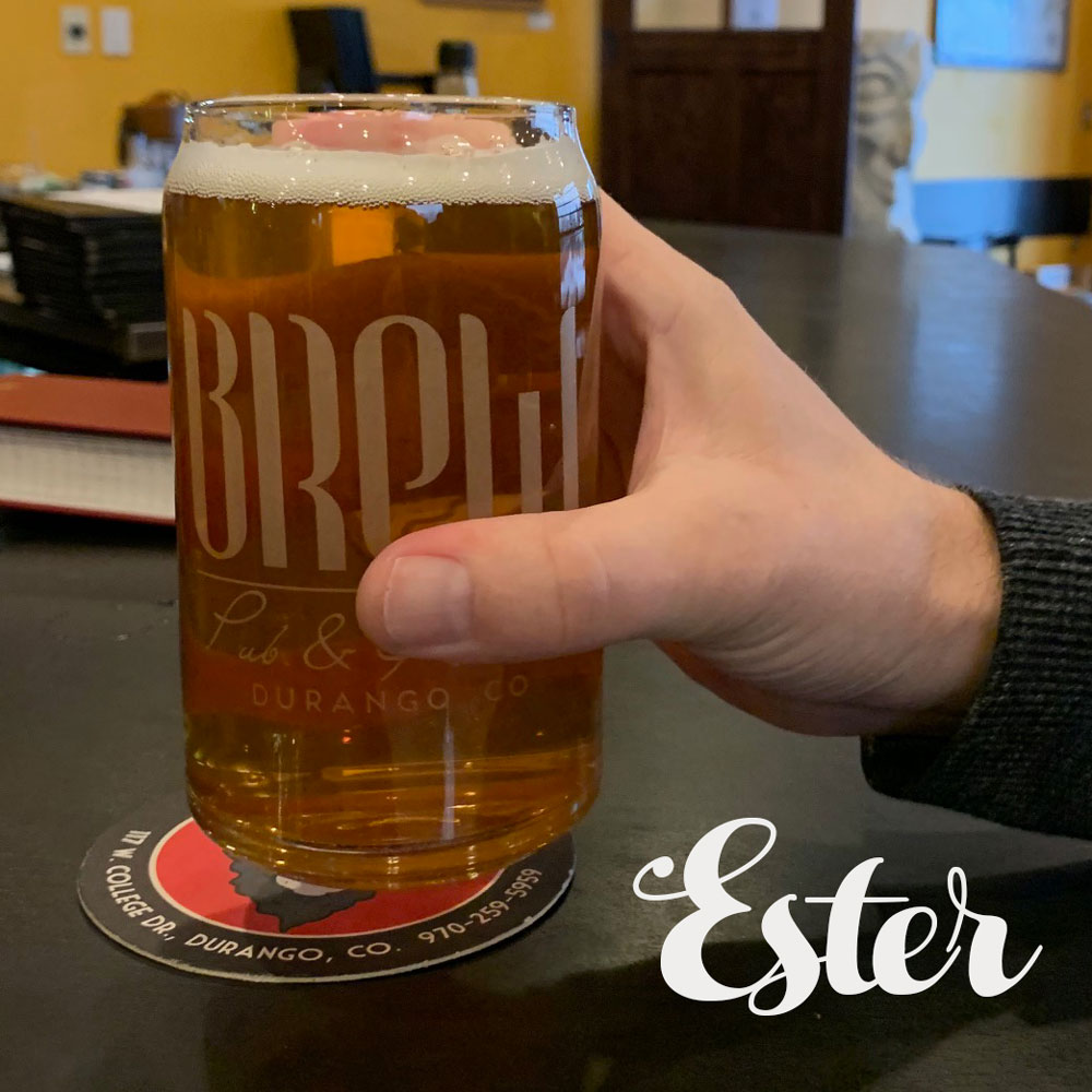 Ester - A fruity, delicious, tropical American IPA6.7% ABV 67 IBU