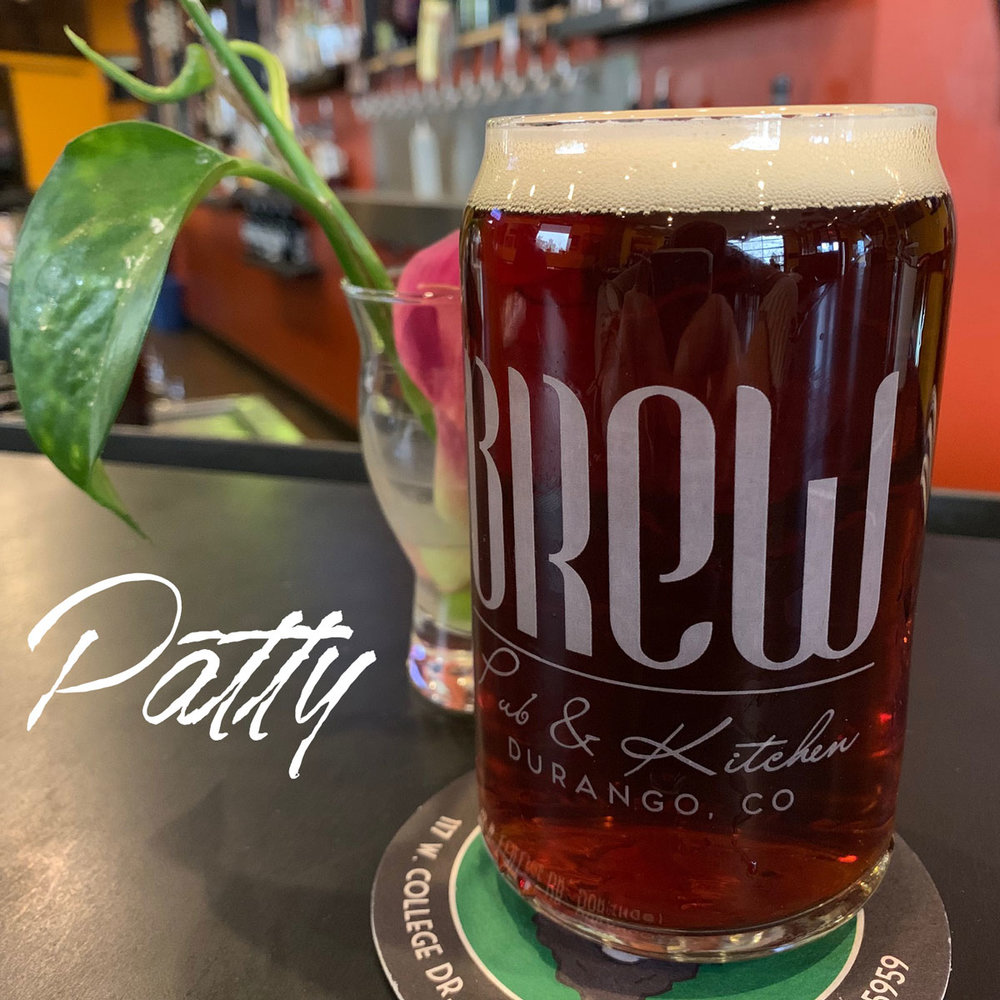 Patty - A toasty malt Red Ale — hints of caramel, full of heart5.3% ABV 34 IBU