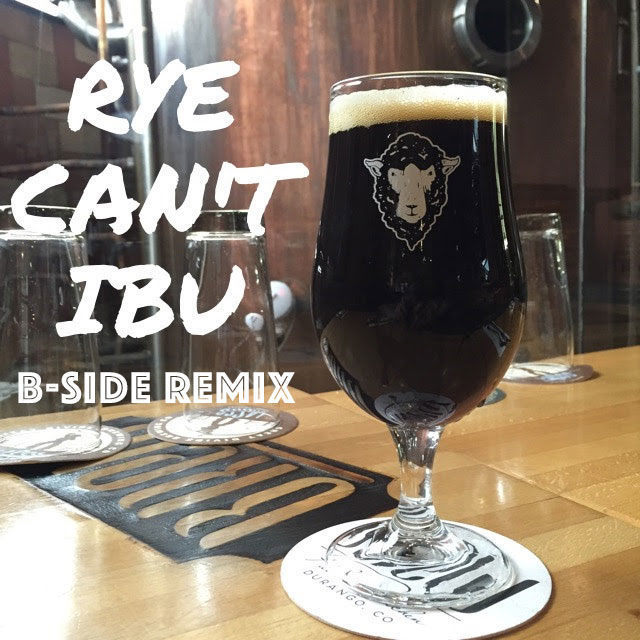 A new take on one of our favorites. Check out the B-Side Remix of Rye Can't I Be U, a barrel-aged version of our classic Black Imperial Rye Lager.
