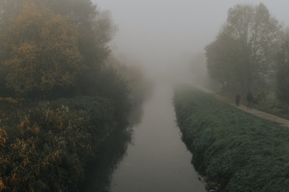 Walk me out in a Foggy morning