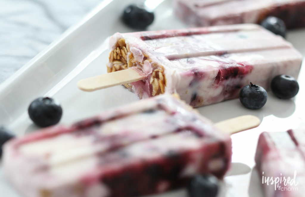 Quick & Healthy Breakfast Recipes: Yogurt Parfait Popsicles