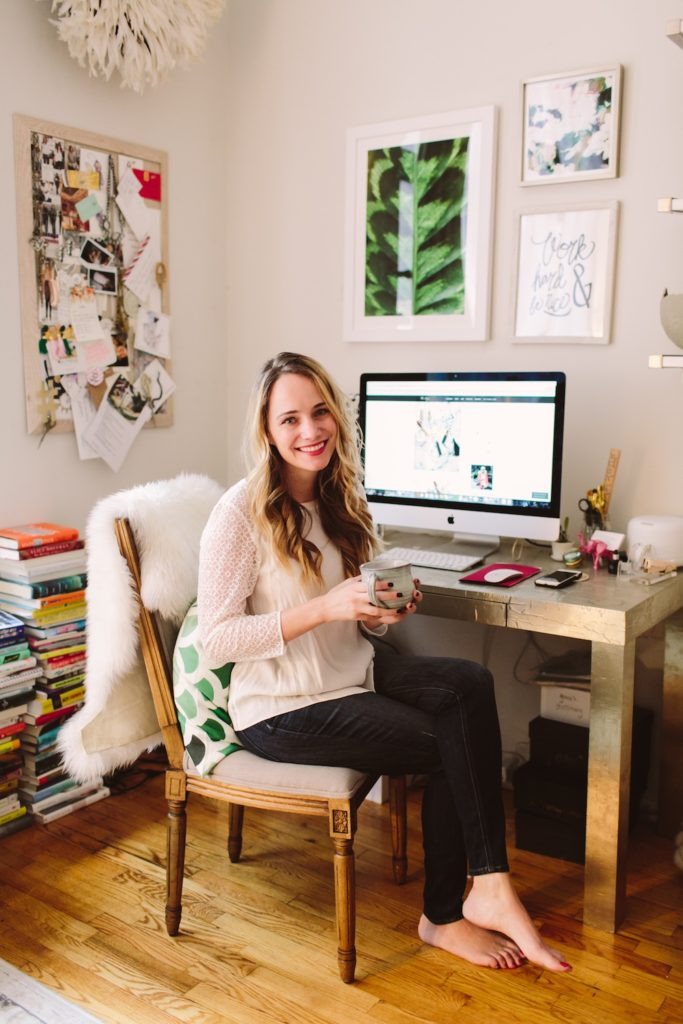 Grace Atwood, lifestyle blogger behind The Stripe