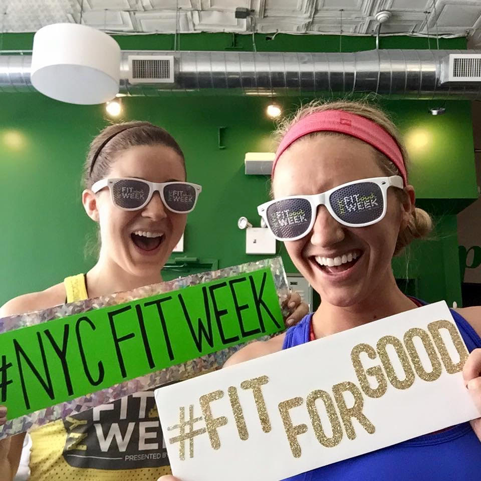 NYC FITWEEK Emily Cook Harris