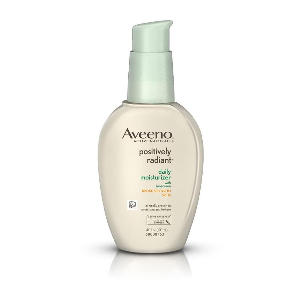 Six Products to Transition Your Skin to Cooler Weather Aveeno Positively Radiant Moisturizer