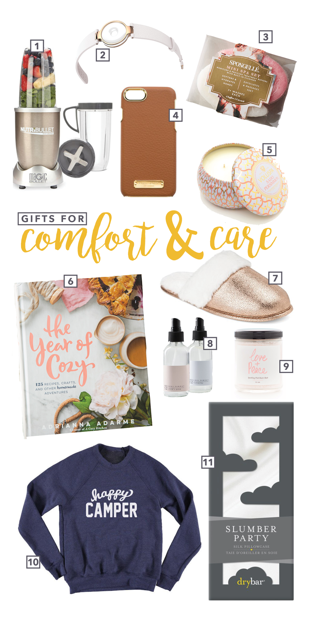 Spire & Co Gifts for Comfort and Care