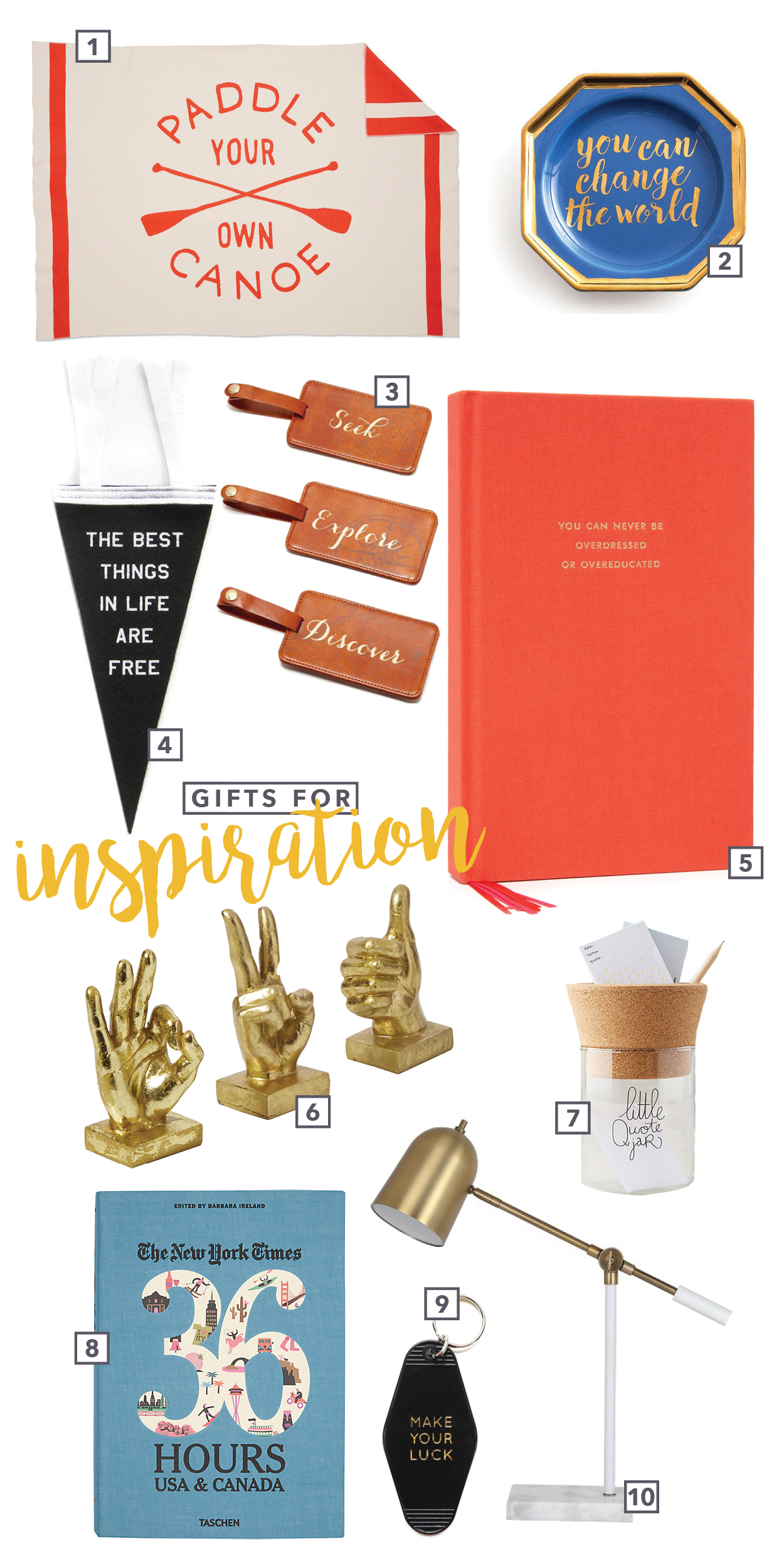 Spire & Co Gifts for Inspiration