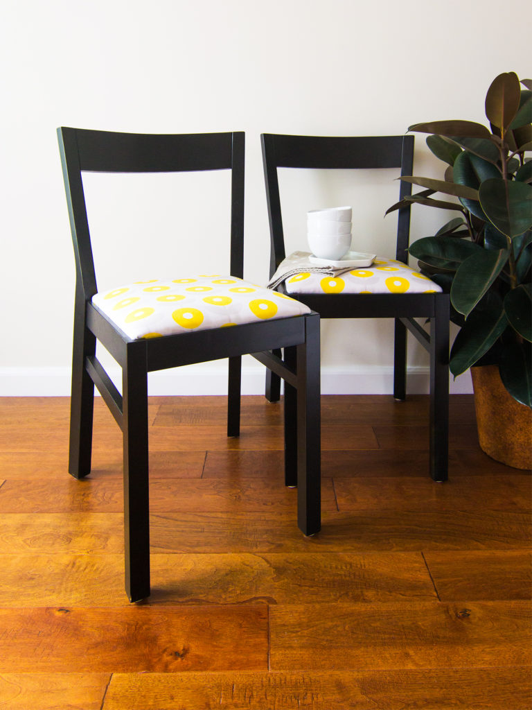 DIY Upholstered Chairs