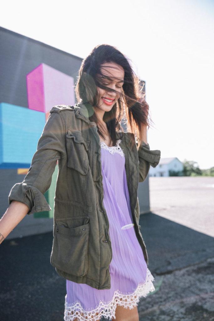 Slip Dress Blogger