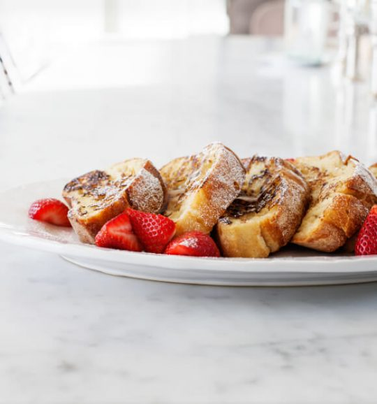 Vegan Breakfast Recipes: Vegan French Toast