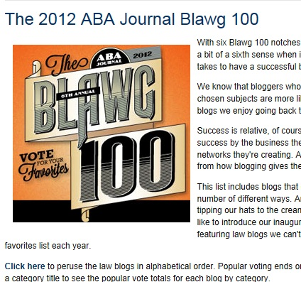 Photo:  Courtesy of ABA Journal 2012