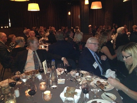 Photo: At the American Board of Trial Advocates annual dinner in Seattle. The average age of membership in this group is over 60. It is graying out. Because so many younger lawyers do not have enough trials to qualify, membership requirements have now been relaxed.