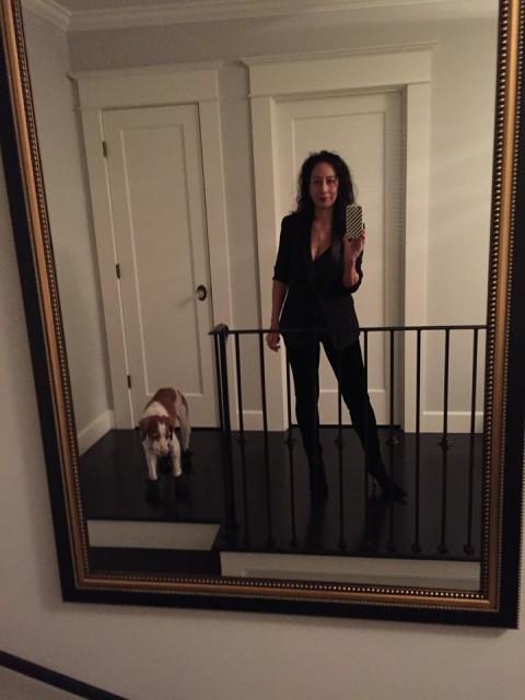 Photo: selfie with Nala