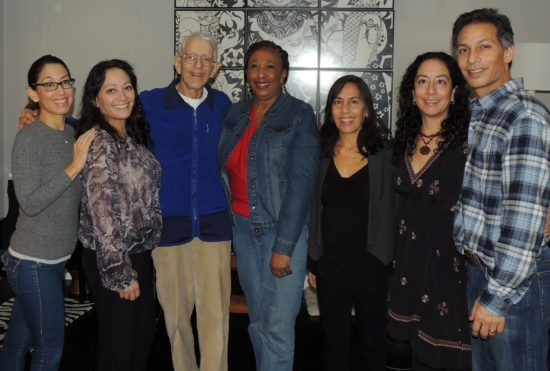 Photo: My brother, sisters, dad and step mom on Thanksgiving