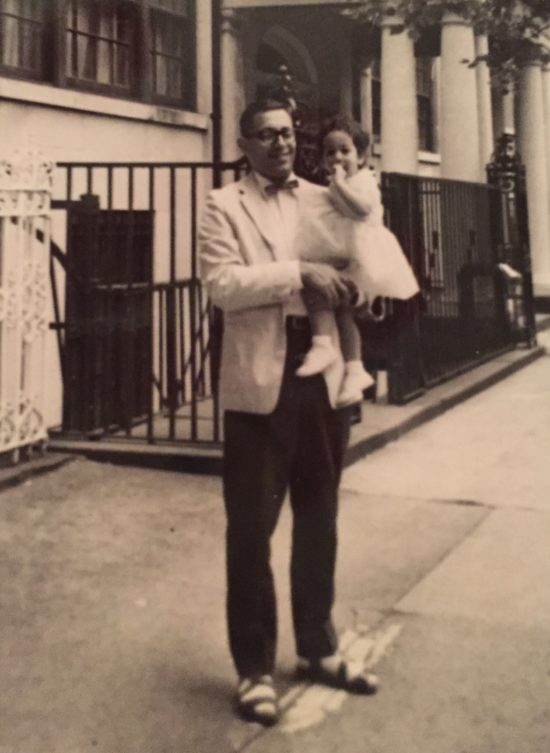 Photo: Dad in his sartorial splendor - including sandals with white socks .
