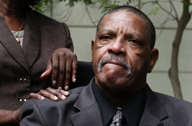 Charles Lyles, father of Charleena Lyles, has a lawsuit on behalf of her daughter's estate against the two Seattle police officers who fatally shot her on June 18. (Alan Berner/The Seattle Times)