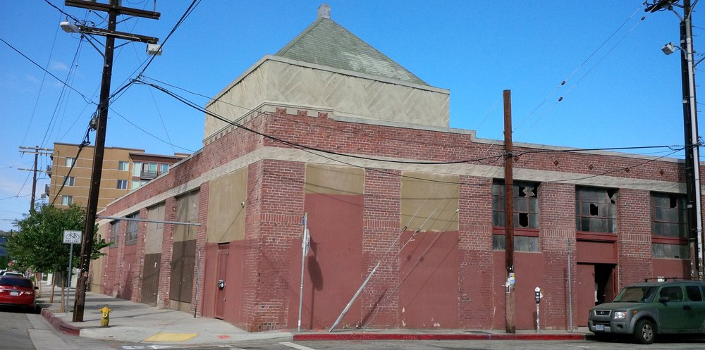 - A view of the building prior to renovation.