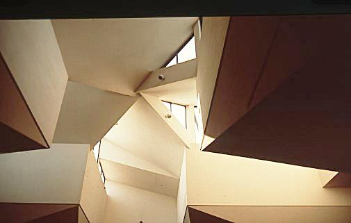 - Center court ceiling configuration