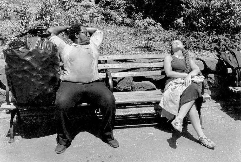 Central Park, 1979 by Tod Papageorge