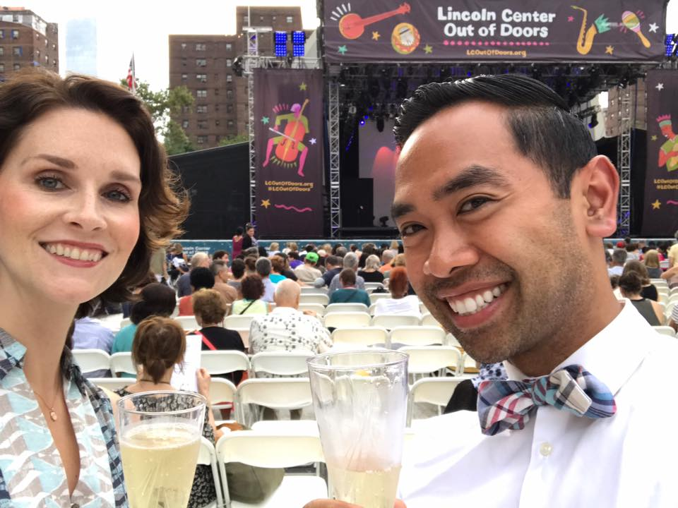 Lincoln Center Out of Doors Festival  - July 28, 2017TaylorNEXT members gathered to enjoy the Paul Taylor Dance Company performance.We met for pre-show cocktails at Ed's Chowder House and post-show dinner at The Empire Rooftop and Lounge.