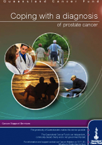 Coping with a diagnosis of prostate cancer - Discusses issues you may face after a diagnosis and strategies for dealing with them.