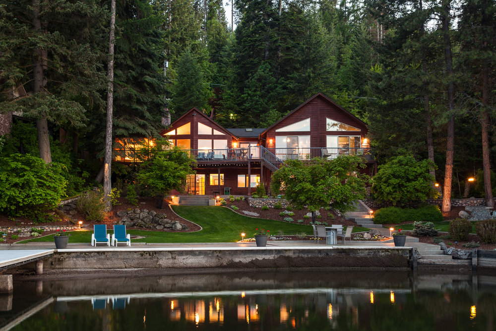 Idaho Waterfront Luxury Home