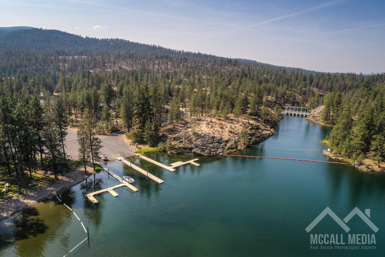Q Emiln Park Boat Launch Aerial Mccall Media Coeur D Alene Spokane Real Estate Photographer Videographer Drone Aerial Photography Videography