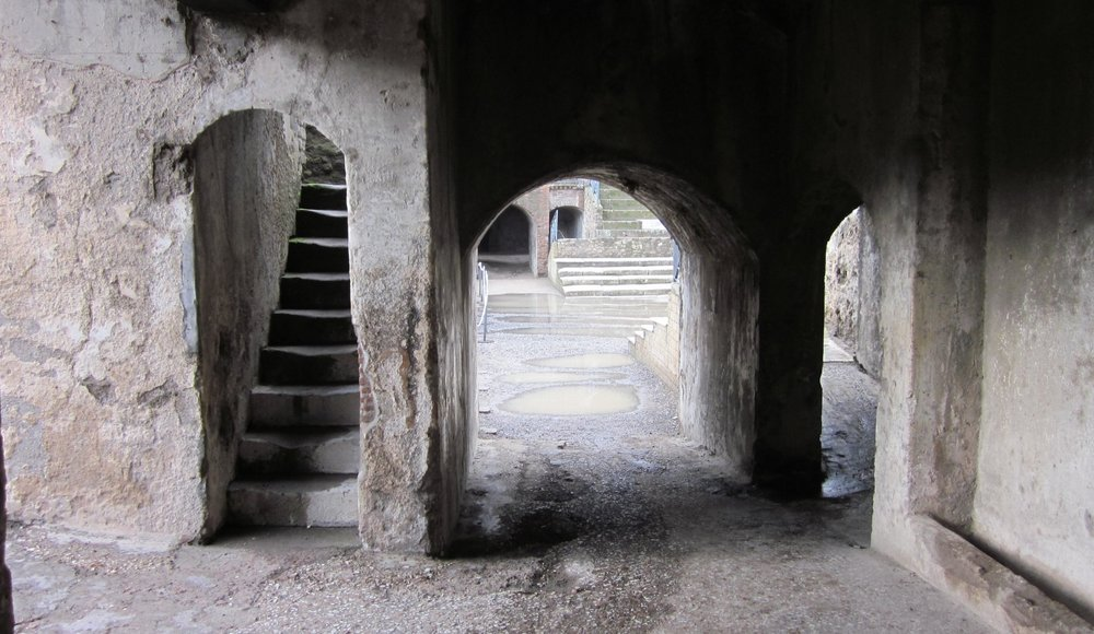Theatre at Pompeii