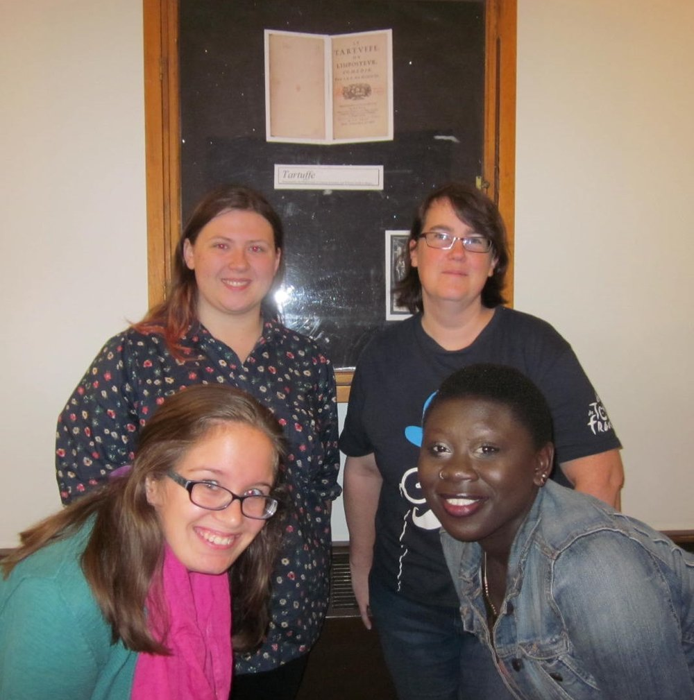 Sara, Kim, Eileen, and Essence at HWS