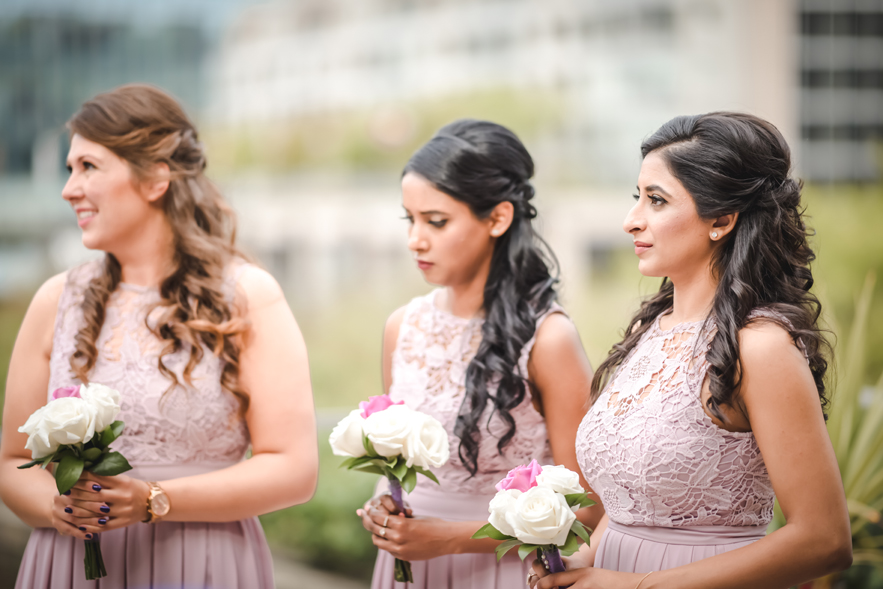 Bridesmaids' Makeup