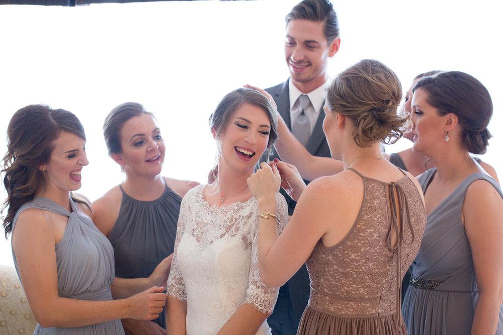 Bridesmaids' Hair