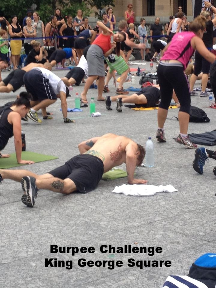 Burpee Challenge King George Square