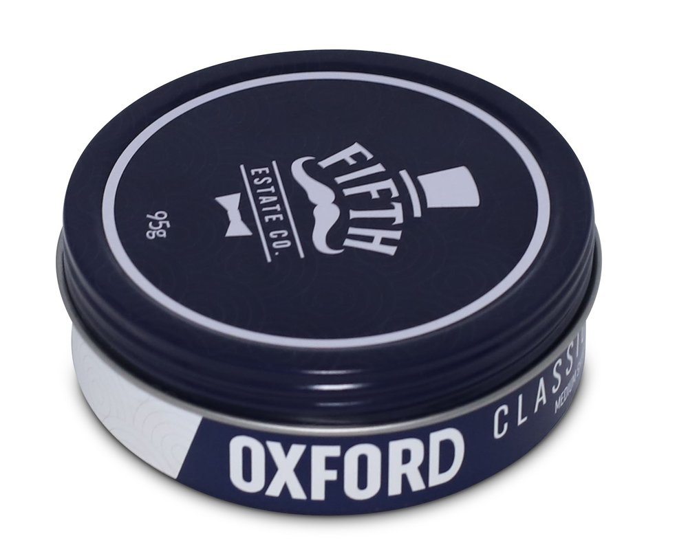 Oxford natural water-based pomade for pompadours and similar