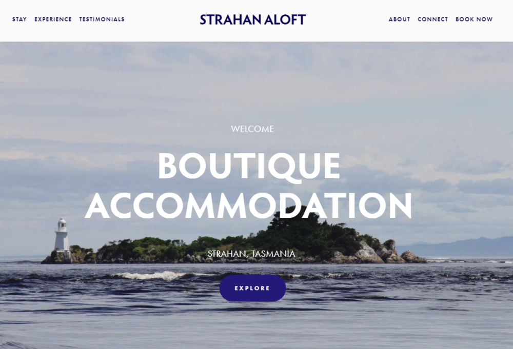 Website design strahan aloft